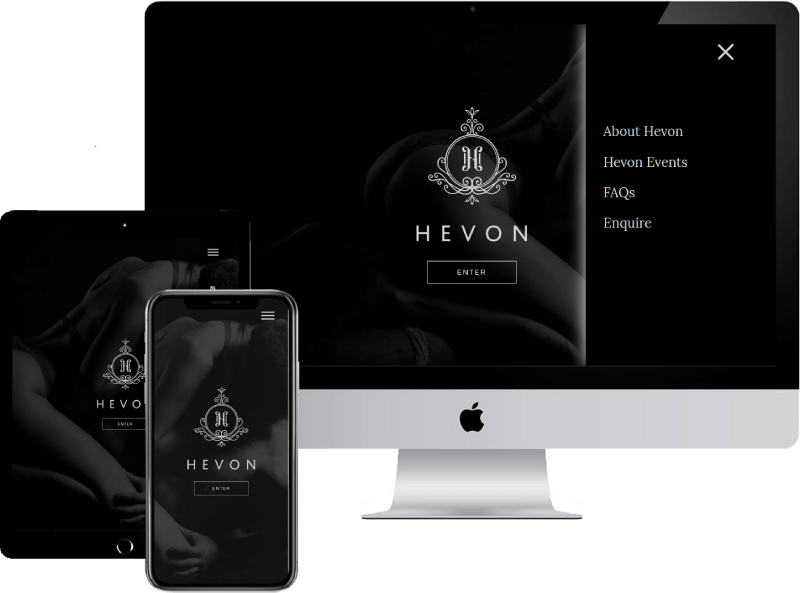 Hevon Site Apple Device Mockup